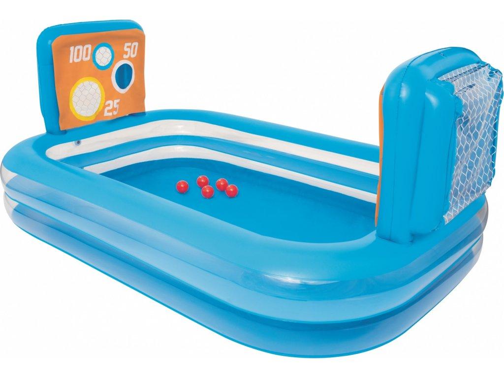 Bestway 54170 bazének s brankami 237 x 157 x 94 cm