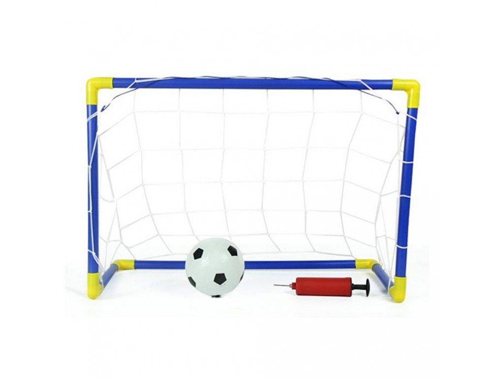 XQ Max Fotbalová branka s míčem a pumpičkou 90x45x64 cm 2