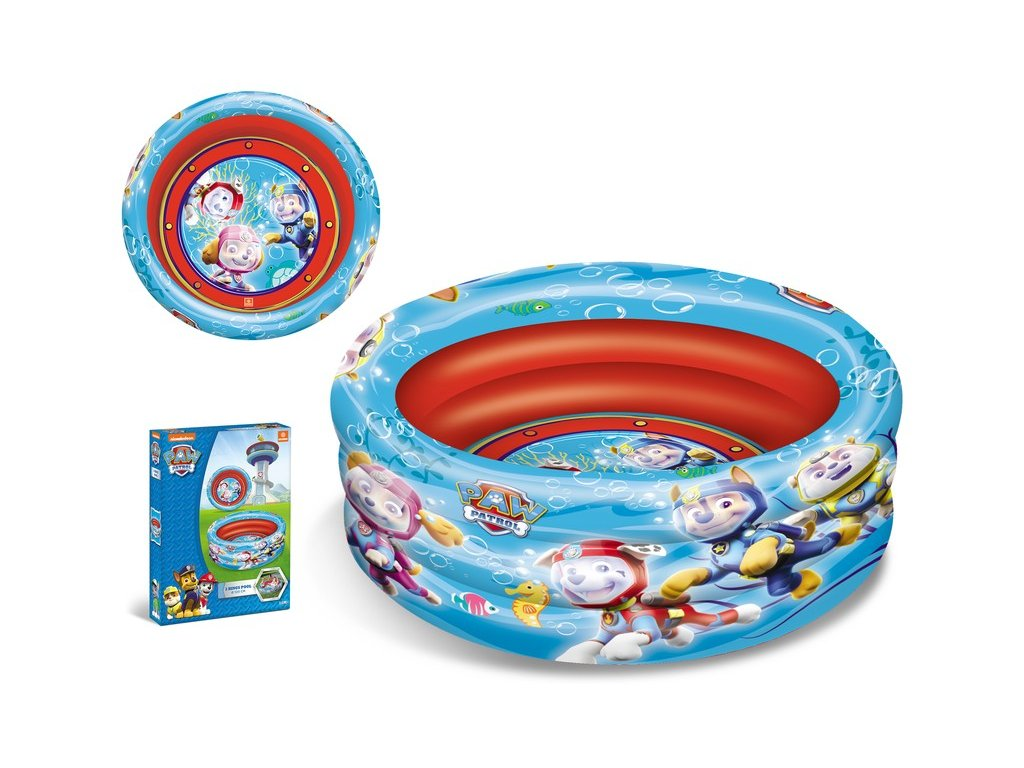 Mondo Dětský bazének Paw Patrol 100 x 30 cm