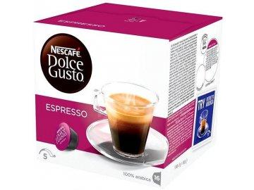 Nescafé Dolce Gusto kávové kapsle Espresso 16 ks