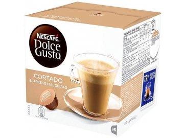 Nescafé Dolce Gusto kávové kapsle Cortado 16 ks