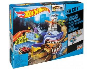 Hot Wheels color shifters set žraločí přístav