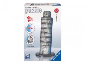 Ravensburger 3D puzzle Šikmá věž v Pise