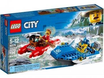 Lego CITY 60176 Útěk na divoké řece
