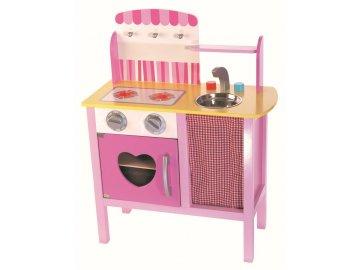 TREFL Dětská dřevěná kuchyňka Helenka