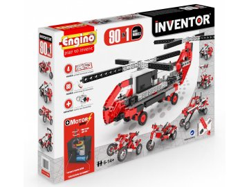 Engino 9030 Inventor 90 Models Motorized Set