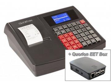 Quorion registrační pokladna QMP 18 2xRS USB + EET Box