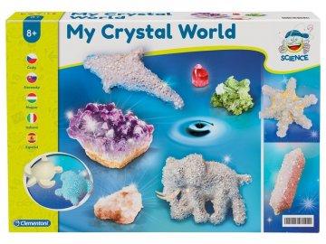 Clementoni Můj krystalový svět