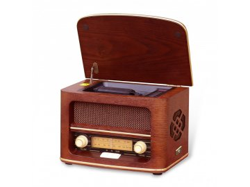 Retro rádio s CD MP3 přehrávačem Orava RR 51 A