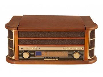 Retro rádio s gramofonem Orava RR 65