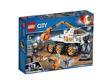 LEGO City 60225 Testovací jízda kosmického vozítka