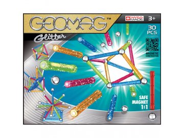 Stavebnice Geomag Glitter 30