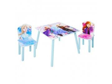 ABC stůl se židlemi Ledové Království Frozen II 2