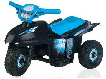 Loko Toys elektrická tříkolka Tribike Stars modrá