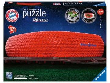Ravensburger 3D puzzle svítící Allianz Arena 216 ks