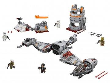 Lego Star Wars 75202 Obrana planety Crait 1