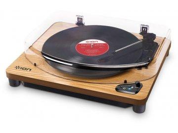 Bezdrátový gramofon ION Air LP Wood 1