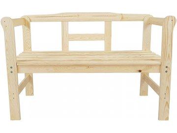 Mull´s Zahradní lavička Jardin dřevo přírodní 3