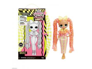 L.O.L. Surprise! O.M.G. Lights Dazzle panenka s 15 překvapeními