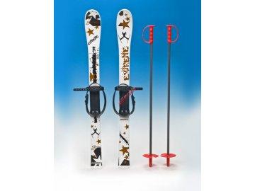 Dětské plastové lyže ACRA Baby Ski