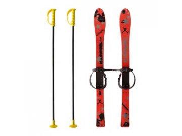 Dětské plastové lyže ACRA Baby Ski červené