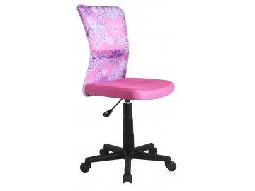 Halmar Dětská židle DINGO, růžová