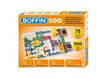 Elektronická stavebnice Boffin 500