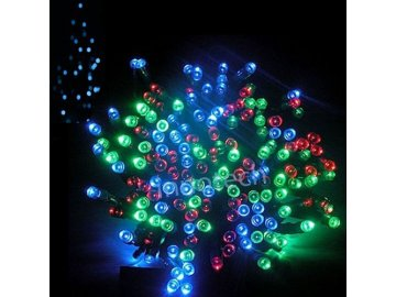Vánoční osvětlení Cortina světelný řetěz 200LED 9,9 m barevné