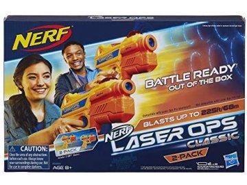 Hasbro Nerf laserová pistole E5393 Nerf Laser Ops Classic duopack