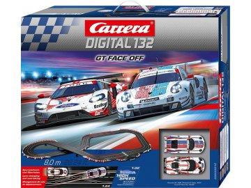 Autodráha Carrera D132 30012 GT Face Off