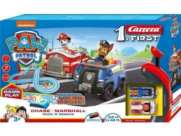 Autodráha Carrera FIRST 63033 Paw Patrol Tlapková patrola