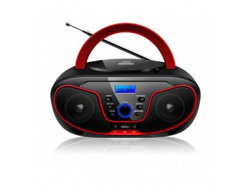 BRAVO CD přehrávač B 6037 červené
