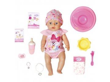 Baby Born s kouzelným dudlíkem holčička 43 cm