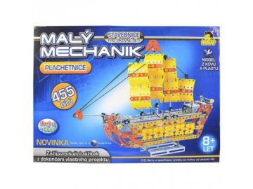 Made Malý mechanik Loď 455 ks 1