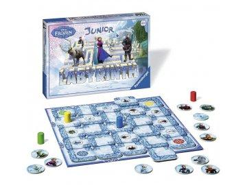 Ravensburger Labyrint Junior: Ledové království nejlevnější levně skladem Frozen