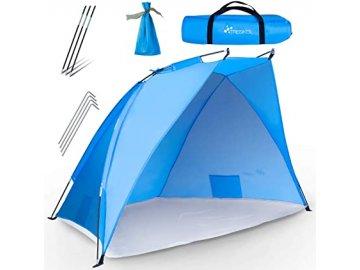 CountrySide 1305810 Plážový stan modrý 1