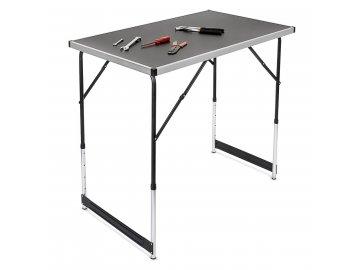 Hliníkový skládací prodejní pult stůl stolek
