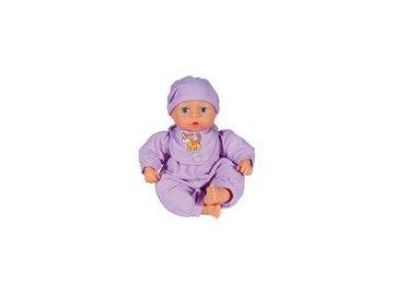 Bayer Panenka First Words Baby 38cm 24 funkcí  - fialová