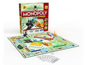 Společenská hra Hasbro Monopoly Junior CZ