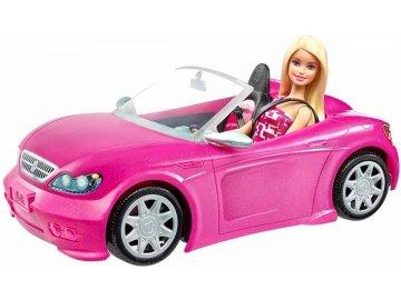 Mattel Barbie auto kabriolet DJR55