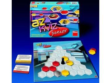 Společenská hra Dino AZ Kvíz Junior