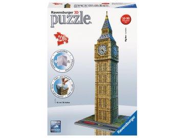 Ravensburger 3D puzzle Big Ben Londýn 216 dílků