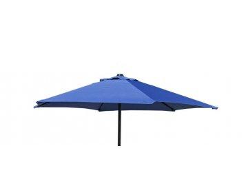 OEM Slunečník s hliníkovými žebry 180 cm modrý