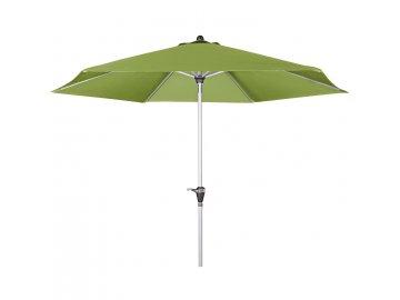 OEM Slunečník s hliníkovými žebry 180 cm zelený