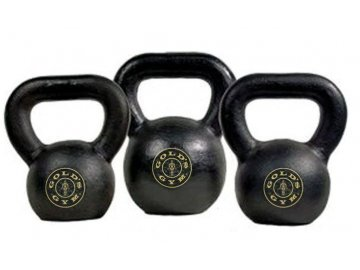 Gold´s Gym Kettlebell vinylový set 2,2 6,8 kg