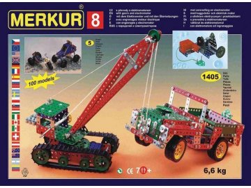 Stavebnice Merkur M 8