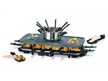 Fondue a Raclette set GourmetMaxx 2465 pro 8 osob