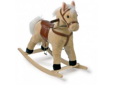 Wiky Houpací kůň plyš 60 cm na baterie se zvukem