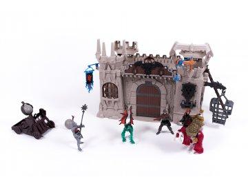 Alltoys Středověký rytířský hrad s doplňky 1