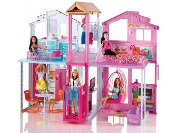 Domeček pro panenky Mattel Barbie vilový dům